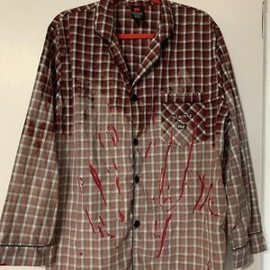 Hanes Shirts - Custom DIY Nightmare Flannel